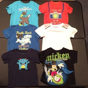 Other - Lot of 6 boys short sleeve tops, size 12 months